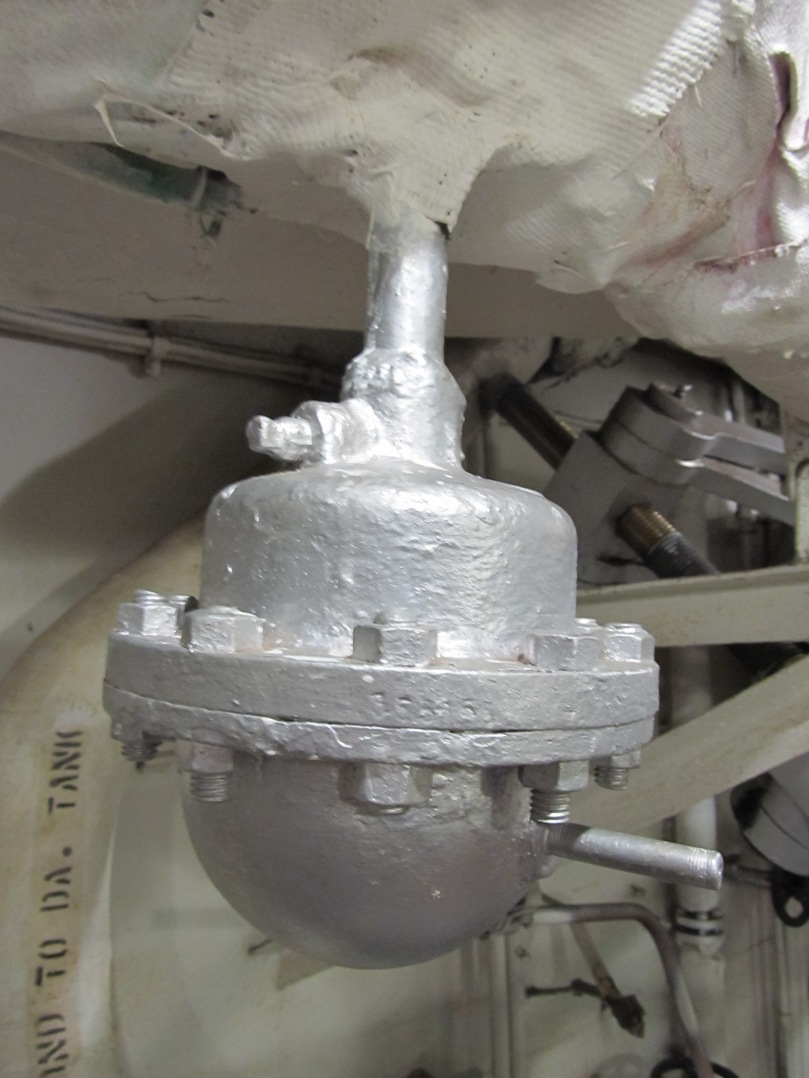 Uss Drum Engine Room: Bells On A BB